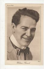 William Russell Actor Vintage Plain Back Card 486a