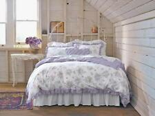 Simply Shabby Chic KING Duvet Cover Set lilac lavender rose rachel ashwell