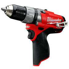 Milwaukee 2404-20 M12 FUEL 12-Volt 1/2-Inch Hammer Drill/Driver - Bare Tool
