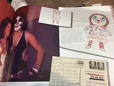 ULTRA RARE KISS PETER CRISS PERSONAL TOUR PILLOW CASES SEWN BY HIS MOTHER 1976