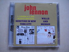 COLLECTION John Lennon - Sometime In New York City + Walls And Bridges DOUBLE CD