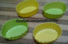 4pcs OVAL Bento Tools Puto Jelly Cupcake Chocolate Baking Pan Molder Mold Cups