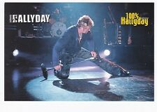 Johnny HALLYDAY carte postale 100 % TOUR 2000