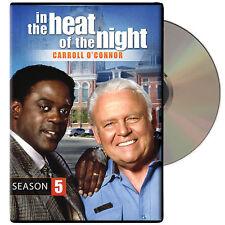 In the Heat of the Night: Season 5 (DVD, 2014, 5-Disc Set)