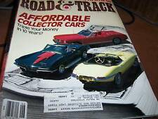 Road & Track June 1988 Affordable Collector Cars