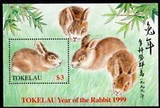 Tokelau MNH 1999 Chinese New Year - Year of the Rabbit Minisheet