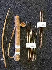 San Bushmen African Kalahari (Bow, Arrows, Quiver & Fire Sticks). Rare