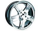 "Brand New Bazo-4 wheels 18"" Shadow Chrome (5x120) (Set of 4)"
