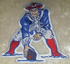 "New England Patriots Pat NFL 4"" Iron On Embroidered Patch ~USA~ FREE Ship!"