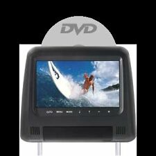 Poggiatesta monitor HD con DVD - USB/SD