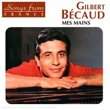 Gilbert B caud, Gilbert Bécaud, Gilbert Becaud - Mes Mains [New CD]
