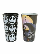 Nightmare Before Christmas Pint Beer Glasses Set 16Oz Drinking Cup Glassware NEW