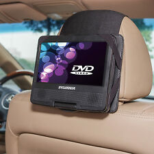 "Car Headrest Mount for Sylvania Sdvd7027 7"" Swivel & Flip Portable DVD Player"