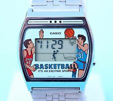 CASIO GF-11 GAME WATCH BASKETBALL MINT Mod 209 VINTAGE RARE RETRO MADE IN JAPAN