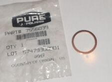 POLARIS PURE OEM NOS MOTORCYCLE VICTORY  DRAIN PLUG WASHER  7556039