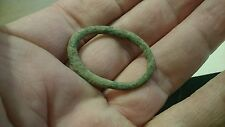 Beautiful large Bronze Celtic money ring lovely ancient artifact