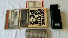 Radio Shack TRS-80 PC-2 Pocket Computer with Owner's Manual, How To Book