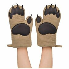 Fred & Friends BEAR HANDS Oven Mitts, Set of 2,( 5130360) Two mitts (NEW)