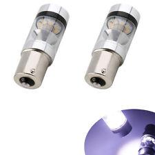 2 pcs P21W S25 1156 BA15S CREE XBD LED 8000k  DC 12V-24V Car Reverse Bulb Lamp