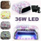 Nail Dryer Curing Lamp Diamond Shape 36W LED CCFL Machine For UV Gel Nail Polish
