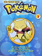 DIE WELT DER POKEMON Nr. 7 / Folgen 19-21 |  Magazin + DVD #ZZ | Pokémon