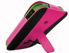 PINK Leather Vertical Case Cover with stand for LeapFrog LeapPad Ultra