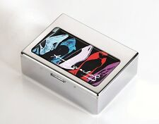 Andy Warhol Troika Metal Utensils Trinket Jewellery Box 3rd Edition SHOES Gift