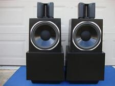 Super Nice ESS AMT-1D Floor Speakers w/ All New Grill Cloth - Pro Reconditioned!