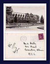 CANADA QUEBEC SHAWINIGAN FALLS CASCADE INN 19 JULY 1949 TO MRS FULLER, EVANSTON