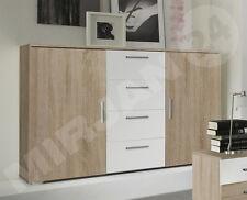 Warren Schubladenkommode! Sideboard Kommode Farbauswähl Weiß Schwarz Design