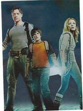 Journey To The Center Of The Earth 3D Movie Trading Card Foil Puzzle FW5