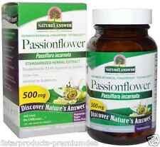 NEW NATURE'S ANSWER PASSIONFLOWER ORGANIC ALCOHOL CONCENTRATED HERBAL BODY CARE
