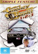 SMOKEY and THE BANDIT Trilogy 1 2 3 : NEW DVD