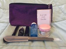 NEW Lancôme Makeup Set w/ Purple Bag