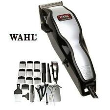 Hair Cut Clipper Grooming Machine Wahl Chrome Pro Mains Set & Instructional Dvd