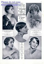 New hairstyles 1925 One page with photographic images hair stylist 20s bride