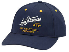LEVI STRAUSS CALIFORNIA BASEBALL CAP ADJUSTABLE AT THE BACK 224339 - NAVY BLUE