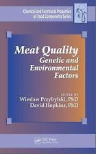 Chemical and Functional Properties of Food Components: Meat Quality : Genetic...