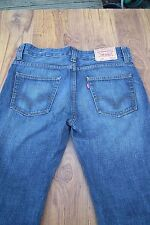 LEVI'S 506 JEANS MENS STRAIGHT LEG W32 L32 STRAUSS DARK BLUE