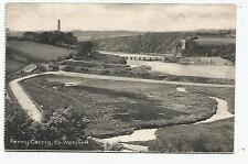 irish postcard ireland wexford ferry carrig