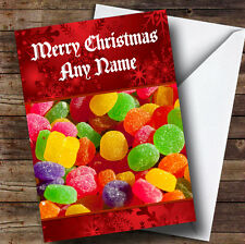 Jelly Tots Children's Personalised Christmas Greetings Card