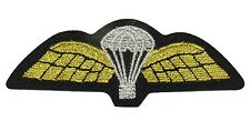 Parachute Wings sew On Embroidered Patch Badge Air Force Military Uniform R1760