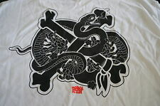 IN4MATION IN4M SNAKEBONE POCKET TEE SHIRT T-SHIRT EXTRA-LARGE XL WHITE