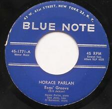 HORACE PARLAN Bag's groove / There...JAZZ BLUE NOTE USA Rvg 1960 Vinyl 45 Piano