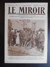 """Revue """"Le miroir n°42 - Les soudards du kaiser..."""" 13 septembre 1914"""