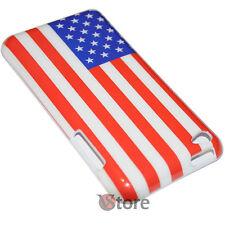 Cover Custodia Per iPod Touch 4 4G Bandiera America Americana USA + Pellicola