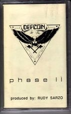 DEFCON: PHASE II CASSETTE HARD ROCK HAIR METAL DEMO RUDY SARZO