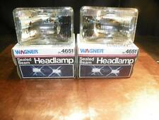 NOS Wagner Pair Head Light AMC Buick Cadillac Chevy Ford Chrysler Dodge GMC 4651
