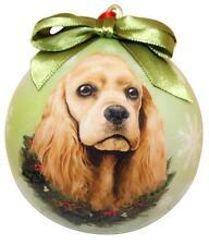 Cocker Spaniel Shatter Proof Ball Ornament Holiday Christmas Tree Decoration