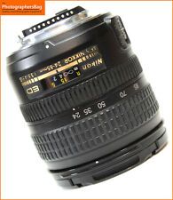 Nikon 24-85mm f3.5-4.5 AF-S G ED MAnual Focus  Lens + Free UK Postage